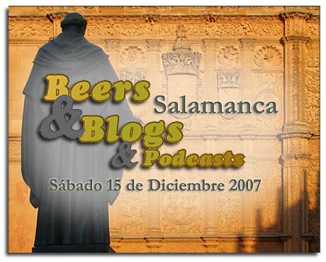 Beers&Blogs Salamanca, Diciembre 2007