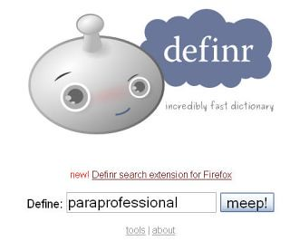 Definr - A Fast Dictionary