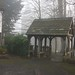 worth church,  lych gate..