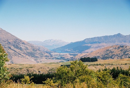 Looking from the Crown Range towards NZQN