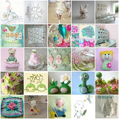 Flickrfavoriter! (TM - the crocheteer!) Tags: china bear pink blue white cute green illustration fdsflickrtoys heart embroidery mosaic pastel crochet rosa pearls cupcake tm favourites pearl amigurumi grannysquare lightblue vitt favoriter virkkaus bltt grnt towemy ljusbltt tmcrocheteer