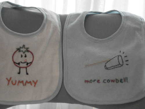 More bibs, more cowbell!