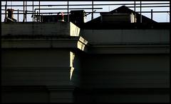 Harsh Light 4 (BoblyP) Tags: uk light england sunlight architecture sussex brighton unitedkingdom betty townhall chiaroscuro eastsussex entablature classicism lightandshade boblyp