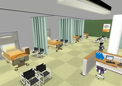 Second Life: National Health Service (UK by rosefirerising, on Flickr