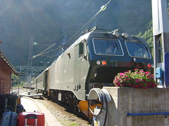 The Flam overland railway (Superfrogwoman) Tags: norway train flam