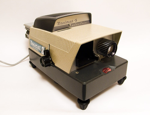 Paximat-S Electric Slide Projector