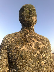 Iron Man (Grateful Ghoul) Tags: art liverpool installation gormley antonygormley anotherplace crosbybeach gormleystatues