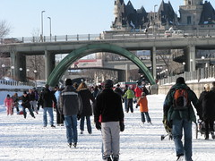 The Laurier Street Bridge