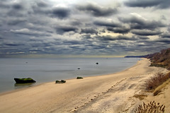 View from the Bluffs (goodeye22) Tags: beach clouds photography sand rocks flickr bluffs rockypoint longislandsound broadwaybeach supershot mywinners platinumphoto aplusphoto copyrightedmaterial keithkrejci broadwayrock longislandphotographer