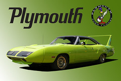 Plymouth Road Runner Superbird (THEjdawg) Tags: green photoshop poster plymouth gradient wi roadrunner carphotography superbird automotivephotography classiccarphotography wwwwitmeyerphotocom