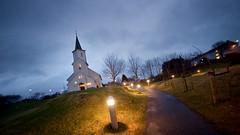 Bremnes Church, Bømlo by Henke