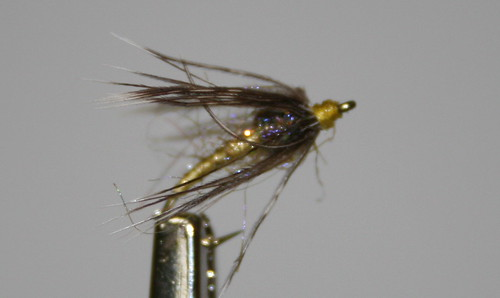 New trick soft hackle yellow