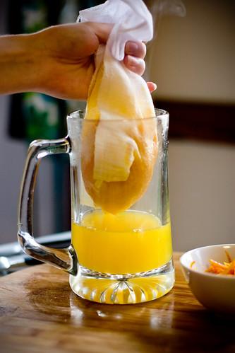 Straining Juice