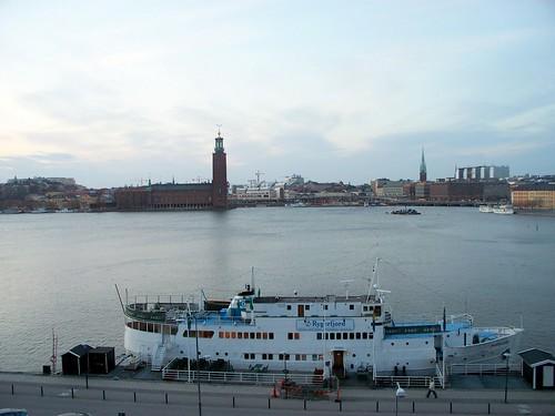 Hotel barco en Estocolmo