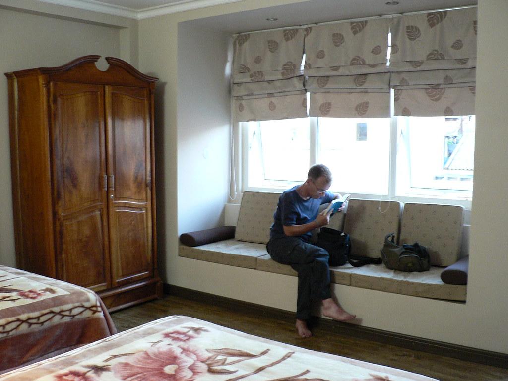 Window seat, dreams hotel, dalat