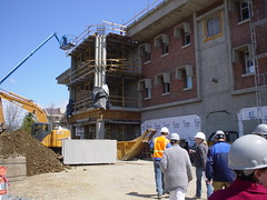 Dean Hall Construction - West entrance