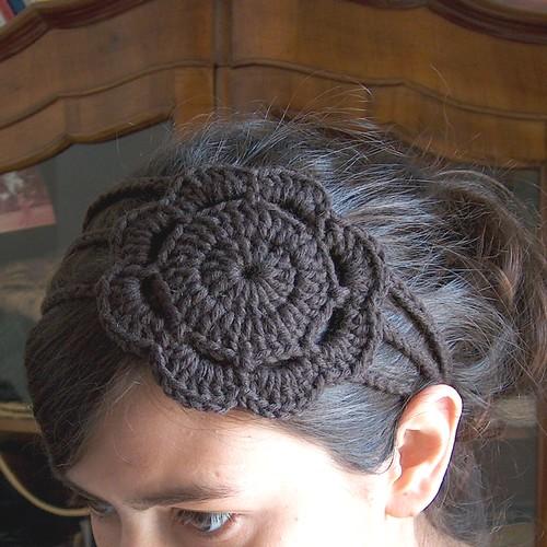 Crochet Pattern For Headband With Flower : Crochet Cuties : Headbands The C Side