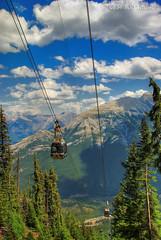 Banff Gondola (T   J ) Tags: banff nikkor banffnationalpark banffgondola supershot 18200vr d80 golddragon mywinners teeje impressedbeauty theunforgettablepictures