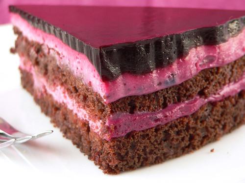 Ultimative Schokoladentorte mit Holunder