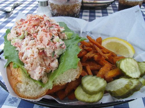 potentially the best lobster roll i've ever had