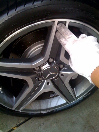 Best way to clean wheels.
