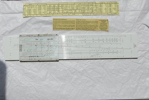 slide rules (set)