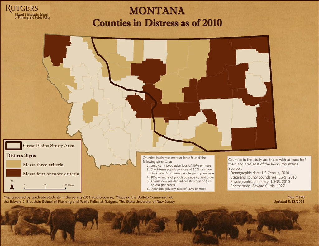 Mt7b Ppt Dayabill Tags Montana Maps Gis Geography Population Rutgers Distress Mapping Decline Frontier