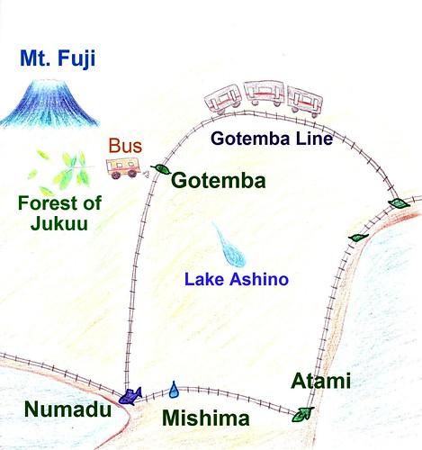 Gotemba-map