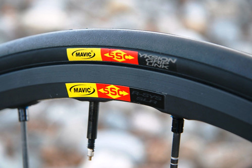 Mavic R-SYS SLR Rim and Tire