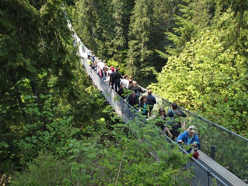 Capilano Suspension Bridge @ Vancouver