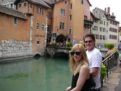 Nikki & Kieren at Annecy