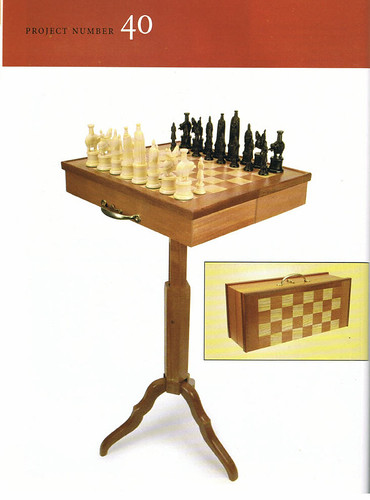 Traveling Game Table