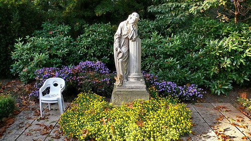 Friedhof Ohlsdorf in Hamburg - Statue