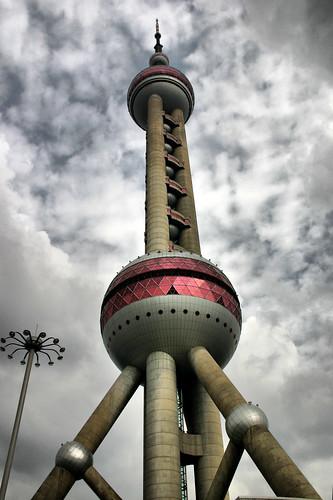 Shanghai -- Pearl Tower.