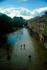 The Sky Break (Z!KeepeR) Tags: city sky rain d50 ed nikon lviv ukraine 1855mm nikkor afs dx  f3556    plosharinok