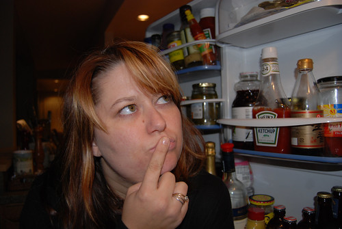 October 29, 2007 (Self Portrait - Food)