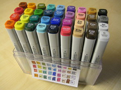 Wednesday - Copic Showcase (chicgeekuk) Tags: laura color colour art colors set rainbow colours spectrum marker supplies 36 thirtysix markers artsupplies copic kishimoto copicmarkers laurakishimoto laurakishimotoca