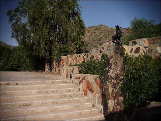 Taliesin West, Stairway