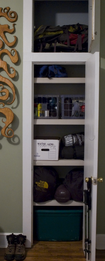 Gear Closet, Finally Organized