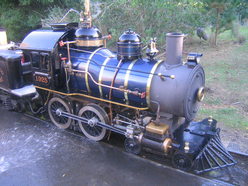 Little Puffer Steam Train, San Francisco Zoo