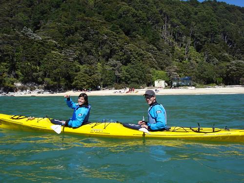 kayaqueando