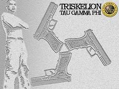 "TAU GAMMA PHI ""TRISKELION"" (GRAM669) Tags: boy guy grey gun triskelion glock surigao taugammaphi grantmatabaran"