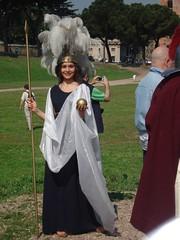 Dea Roma (masquarade77) Tags: roma antica legio gladiator gladiatore gsr legione natalediroma legionari gruppostoricoromano