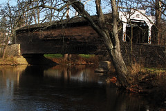 Covered-Bridge_7834 (dcsaint) Tags: bridge creek canon pennsylvania coveredbridge s3 frenchcreek canonpowershots3is dcsaint