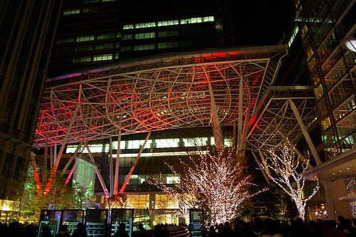 Tokyo Midtown X'mas eve 01