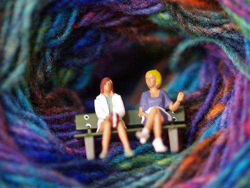 Noro Kureyon sock yarn, col. S40