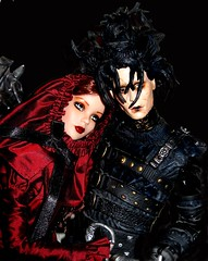 dont they look great togeather (plumaluna07@sbcglobal.net) Tags: dolls tyler edward wentworth scissorhands tonner