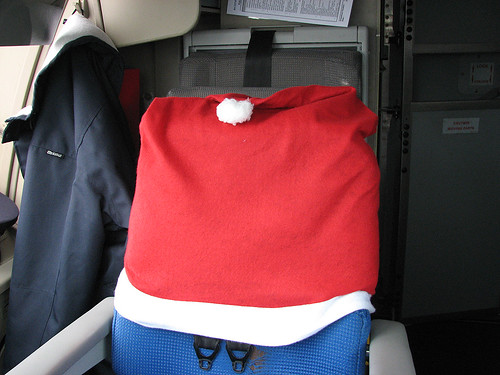 X-mas seat cover