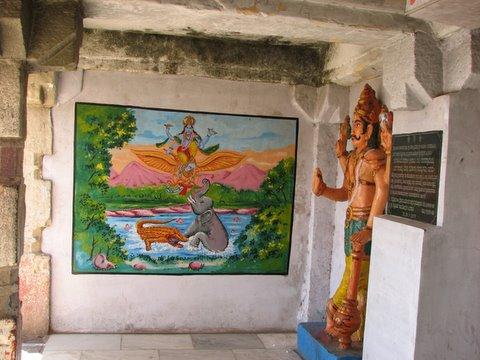 gajendra moksha, b r temple