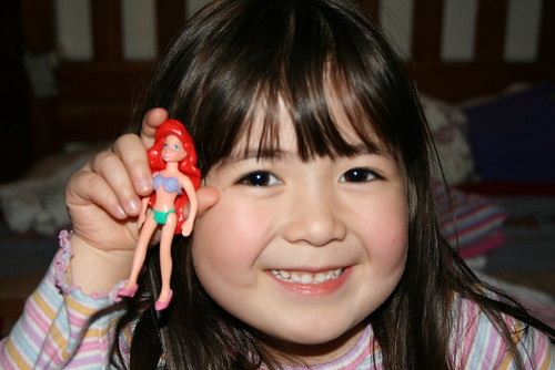 Dova and her Ariel doll